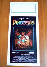 I SOGNI DI PINOCCHIO locandina poster Pinocchio and the Emperor of the Night X90