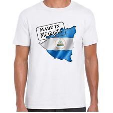 MADE IN NICARAGUA - BANDIERA E MAPPA - uomo tshirt