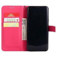 PINK Magnetic Flip Phone Case Samsung Galaxy S7,S7 EDGE,S8,s8 plus,s9,s9 plus