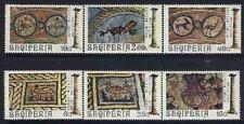 Albania 1974 Sc1564-69 Mi1682-87 mnh Mosaics