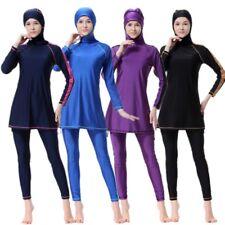 Full Body Cover Style Muslim Swimwear Swimsuit Islamic Swimming Burkini Sets