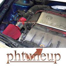 RED 1993-1998 VW VOLKSWAGEN CORRADO SLC GOLF GTI VR6 2.8 2.8L AIR INTAKE KIT