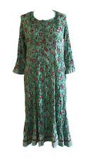 Anokhi Anarkali Kurta/Dress, 100% Cotton, Hand Crinkled