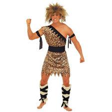 Dschungel Kostüm, Tarzan Herrenkostüm, Jungle Höhlenmensch Outfit, Neandertaler
