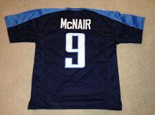 UNSIGNED CUSTOM Sewn Stitched Steve McNair Blue Jersey - M, L, XL, 2XL