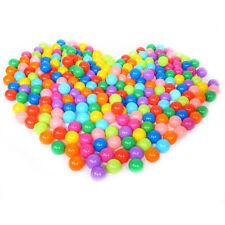 25-100 Stück Bällebad Bällebadbälle Bälle Plastikbälle Kinderbälle Spielbälle DE