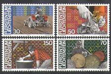 Liechtenstein 1982 Trattore/aratura/industria/latticini/AGRICOLTURA/settore forestale 4v (n37728)