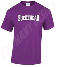 Original Suedehead T-Shirt Skinhead Skins 60's 70's Reggae Ska 1969 Skinheads