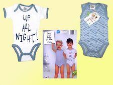 2 er Pack Baby Bodys Body Unterwäsche Gr.62-80 Baumwolle  NEU