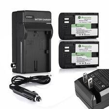 LP-E6 Battery + Charger for Canon EOS 5D Mark II III 6D 60D 7D 70D DSLR Camera