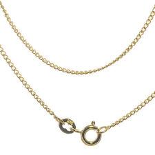 Collier Halskette 925 Silber Vergoldet Panzerkette goldene Herz Kette 45 cm UNI