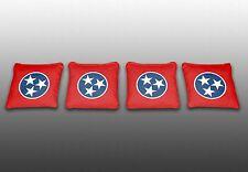 Tennessee State Flag Specialty Custom Cornhole Bags-Set of 4-Baggo-Corn