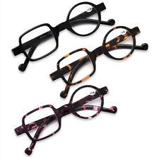 Asymmetric Round&Square Reading glasses for reader +1.0 1.5 2.0 2.5 3.0 3.5
