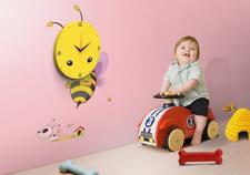 Nursery Room Wall Decor Sticker Kids with clocks