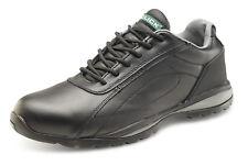 Click double densité de sécurité formateur chaussures. noir. S1P-Cf7Bl