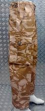 Autentico Esercito Inglese Deserto Mimetico Pantaloni Da Combattimento RIPSTOP (FR) Tutte le Taglie-Nuovo