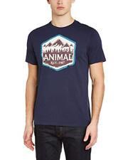 Animal se Gráfico De Hombre Camiseta SS