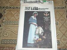 🌻 BUTTERICK #4335-LADIES PIONEER DRESS-APRON-BONNET & SCARF PATTERN 6 or 8-10FF