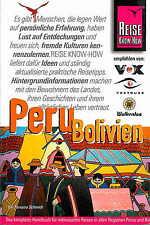 PERU & BOLIVIEN Reiseführer REISE KNOW-HOW 06 Südamerika NEU Reisehandbuch V2