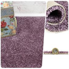 SOFT 12mm Thick Purple Felt Back Twist Pile 4m Wide Carpet Remnant//Roll End