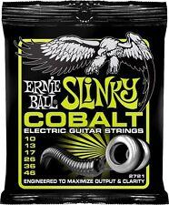 ERNIE BALL 2721 COBALT.010 /.046 Regolari Slinky Chitarra elettrica stringhe