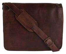 Bag Goat tough Leather Messenger Laptop Vintage Briefcase Real Satchel Genuine
