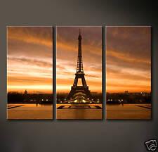 EIFFEL Leinwand Bild Paris Eiffelturm Abstraktes Grafik Druck Champs Elysee