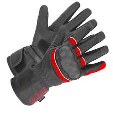 büse St MATCH MOTO TOURING Gants SWZ rouge imperméable avec viseur essuie-glace