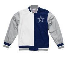 Authentic Dallas Cowboys Super Bowl 5X Champ NFL Mitchell & Ness Warm up Jacket
