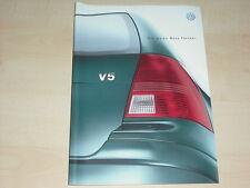 38111) VW Bora Variant Prospekt 04/1999