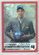 2005-06 Topps Big Game Red 132 Fran Vazquez Orlando Magic Rookie Basketball Card