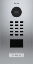 DoorBird IP Video Stainless Steel Door Station Brush Brushed Bronze, POE Capable