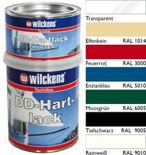 Wilckens DD Hartlack 2-Komponenten 2K Lack Polyurethan Bootsfarbe Yachtlack