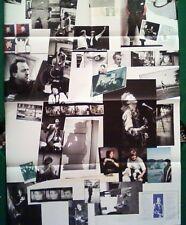 "BIG 22x32 RARE WINGS FUN CLUB / SANDWICH PAUL McCARTNEY ""NEW WORLD TOUR"" POSTER"