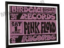 Pink Floyd Concert Poster Birdcage Club Portsmouth 1967