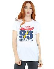 Disney Women's Cars Piston Cup 95 Boyfriend Fit T-Shirt