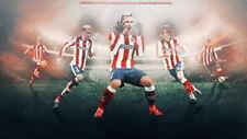 157783 Griezmann - Atletico de Madrid Soccer Top Player Print Poster Affiche