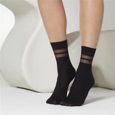 Gipsy Sheer Stripe Ankle Socks|Sheer Ankle Socks 4-7