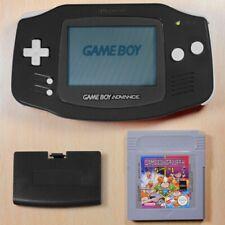 GameBoy Advance - Konsole #schwarz + Spiel GB Gallery 5in1