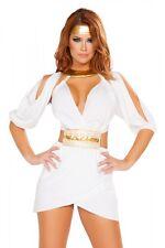 Greek Goddess Costume Large selection S m L white gold Carnival Carneval
