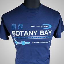 Botany Bay Star Trek II The Wrath Of Khan Retro Movie T Shirt Kirk Spock
