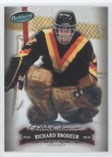 2006-07 Upper Deck Parkhurst #24 Richard Brodeur Vancouver Canucks Hockey Card