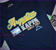 KAPPA TOP TEE SHIRT BOYS 8 10 12 14 16 18 20 ARGENTINA BLUE NEW
