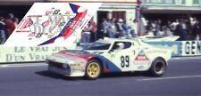 Calcas Lancia Stratos Turbo Le Mans 1977 89 1:32 1:43 1:24 1:18 slot decals