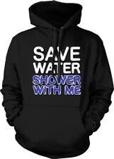 Save Water Shower With Me Funny Flirty Humor Joke Meme Long Sleeve Thermal