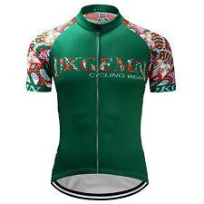 Men's Cycling Jersey Biking Riding Race Sports Biking Shirt Short Sleeve Jerseys