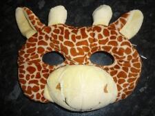 Plush 3D GIRAFFE MASK WITH EARS & HORNS Dress ups Costume Halloween Book Week