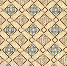 Dolls House Floor Panel Flooring Wallpaper Satin or Matte Card 1/12 - 1/24 #203
