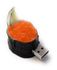 Sushi mit Caviar Rohe Fischeier USB Stick 8GB 16GB 32GB 64GB 2.0 / 3.0