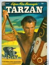 Tarzan #38 November 1952 VG+ Photo Cover